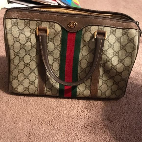 04f2d5a6861 Gucci Handbags - Gucci Vintage Doctor Bag